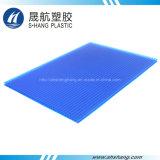 hoja plástica helada 4m m del policarbonato de bronce para el material para techos