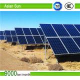 no sistema à terra da montagem do painel solar da grade 15kw com o inversor da grade de MPPT