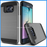 Cas de téléphone cellulaire du banc de tréfilage PC+TPU de qualité pour Samsung S7/S7edge/S7 plus