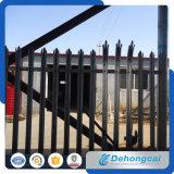 新しいデザインによって電流を通される錬鉄の塀