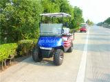 (2+2) carrello di golf del vapore della sede (gomme fuori strada)