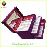 Casella cosmetica impaccante stabilita rigida di vendita calda con lo specchio