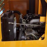 Mini caricatore articolato della rotella con la forcella del libro macchina