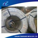 Pleine bobine en acier laminée à froid plate dure molle matérielle principale