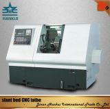 Ck 63L 최신 판매 저가 기울기 침대 CNC 선반 기계
