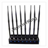 8 antenne Jammer voor 2g+3G+2.4gwifi +Remote Control+Gpsl1+Lojack
