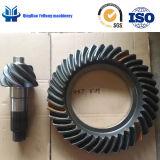 Ingranaggi conici personalizzati adattare elicoidale di spirale dell'attrezzo dell'asse di azionamento della parte posteriore del camion del metallo di precisione BS6027 8/39