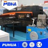 Máquina hidráulica de la prensa de sacador de la torreta del CNC de la hoja de acero