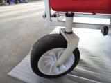 Vermelho de quatro rodas nenhum vagão de dobramento portátil do dossel