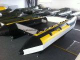 Barco inflável do catamarã do iate da alta velocidade de Liya 3.35m para a venda