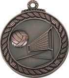 5cm Natación Competencia metal medallón