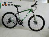 Bicicleta de aço da montanha de 26 tamanhos com a engrenagem de 21 velocidades, engrenagem de Shimano
