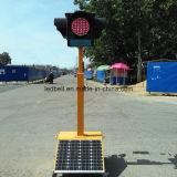 Seiten des Portable-vier sondern Lampen-Solarampel aus