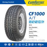 Neumático del vehículo de pasajeros del neumático de la polimerización en cadena, neumático del coche de China del neumático de la polimerización en cadena de Comforser, neumático de UHP SUV