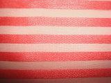 ポリエステル多彩な縞ファブリック
