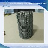 Cylindre de filtre pour écran d'ordinateur de treillis métallique d'acier inoxydable