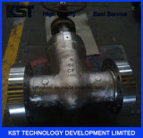 válvula de porta da selagem da pressão do aço de molde 1500lb