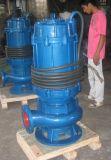 浸水許容の水ポンプ、縦のインライン下水ポンプ、浚渫機ポンプ
