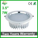 """Aluminio de fundición a presión a troquel de interior 3.5 """" 7W Downlight ahuecado LED"""