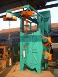 Percha tipo de disparo voladura máquina Hub / Serie P37 automática de las ruedas de la máquina con chorro de arena