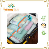 Travel Mint Pouch Luggage Packing Organizer Bags Caso per il Sacco 4PCS Set di Clothing Makeup Sundries Storage