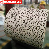 美しく装飾的なパターンPrepainted電流を通された鋼鉄コイル