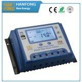 Nuovo Pruduct 40A PWM regolatore solare di Hanfong con il USB