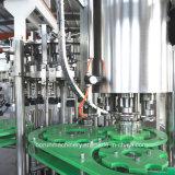 信頼できる光っている水満ちるパッキング機械装置は/ガラスビンのための清涼飲料のびんの充填機を炭酸塩化した