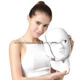 Máscara ligera elegante de la terapia del sistema LED del envío 3 de los colores PDT del fotón LED LED de la máscara facial libre del cuello para la máscara antienvejecedora de la belleza