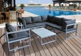 Muebles seccionales de mimbre del jardín del sofá de la rota al aire libre del patio