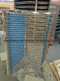 耐熱性螺線形の格子ベルト