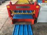 Het Broodje die van het Comité van het Dak van de Staalplaat van de Kleur van de dubbel-laag Machine vormen