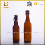 Glasbierflaschen der einfachen Schutzkappen-750ml mit Schwingen-Oberseite (097)