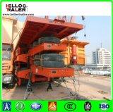 шассиий контейнера /80ton трейлера контейнера Axle 80ton 4