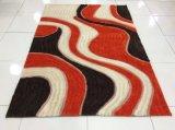 Materia textil de seda suave estupenda 100% de la alfombra de Polyeter modificada para requisitos particulares