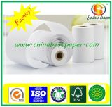 Papier thermique à faible poussière / Fabricant professionnel de papier thermique
