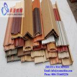 Linha de produção do perfil da placa de contorno do PVC