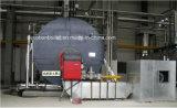 ASME gas de 10 tonnes/pétrole/chaudière à vapeur duelle d'essence avec le bec européen