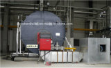 ASME het Gas van 10 Ton/Olie/de Dubbele Stoomketel van de Brandstof Met Europese Brander