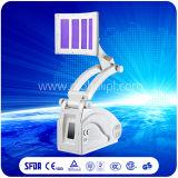 PDT LED Facial Skin Cleaning Máquina de beleza Laser de diodo vermelho e azul