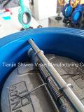 Válvula de verificação dupla da bolacha da placa do ferro Ductile