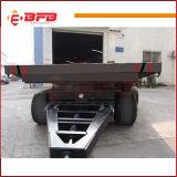 Reboque de carga de transporte de indústria de roda 4 sem energia