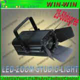RGBW TVビデオプロジェクターズームレンズのプロフィールの点LEDフレネルライト