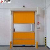 Puertas temporarias rápidas autorreparadoras del obturador del rodillo de la tela del PVC