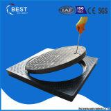 Стандарт BS En124 крышки буерака стеклоткани пластичный