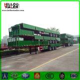 3 de Zijgevel van assen draagt de Semi Aanhangwagen van de Vrachtwagen van de Lading van de Aanhangwagen van de Vrachtwagen 50t
