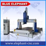 Ele-1530 3D Snijdende CNC van 4 As Router met Roterend Apparaat in China