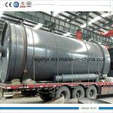 ディーゼルに使用されたゴムをリサイクルする12トンのプラント