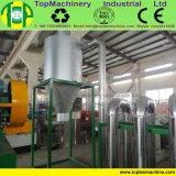 Máquina de lavar eficiente elevada da película do LDPE para recicl a folha do PE do LDPE LLDPE BOPP com sistema de secagem