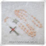 Il nuovo papa Francis Rosary, legno borda il rosario, perla borda i rosari (IO-cr360)